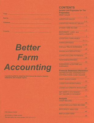 Better Farm Accounting By Edwards, William
